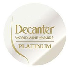 Decanter World Wine Awards, platina